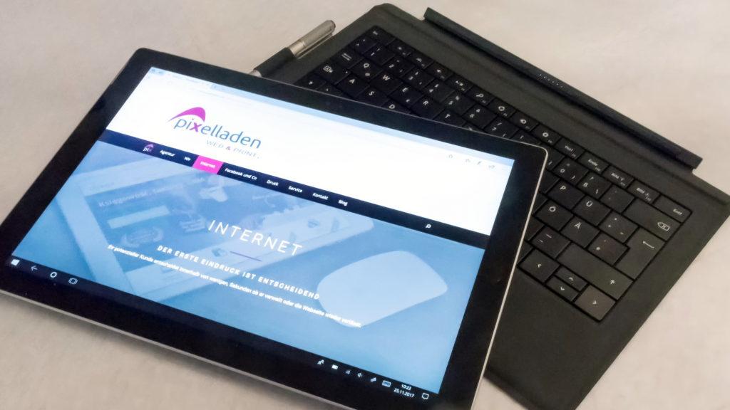 Internet - Pixelladen.de - Webdesign und Printware im Low Budget Bereich